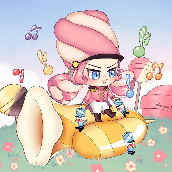 Tags: Anime, Kujjean31, Cookie Run: OvenBreak, Cookie Run, Marshmallow Cookie, Trumpet, Cookie Run: Ovenbreak Forum, Fanart