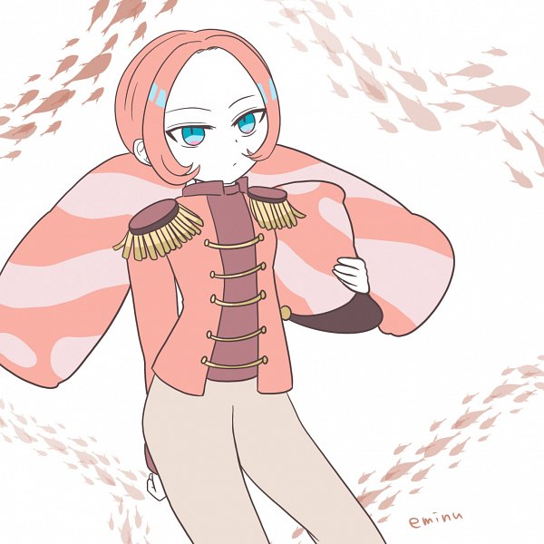 Tags: Anime, Eminu, Cookie Run: OvenBreak, Cookie Run, Marshmallow Cookie, Pink Jacket, Fanart From Pixiv, Pixiv, Fanart