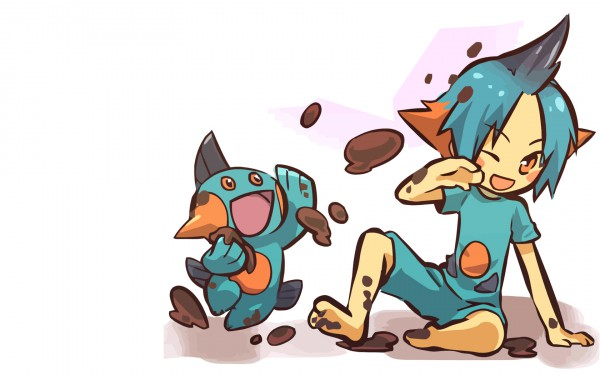 Tags: Anime, Hitec, Pokémon, Marshtomp, 1680x1050 Wallpaper, Wallpaper