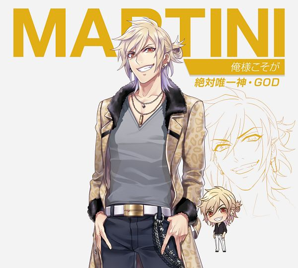 Tags: Anime, geechs, Cocktail Ouji, Martini (Cocktail Ouji), PNG Conversion, Artist Request, Official Art, Cover Image