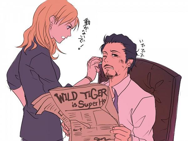 Tags: Anime, TIGER & BUNNY, Iron Man, Pepper Potts, Anthony Edward Stark, Marvel