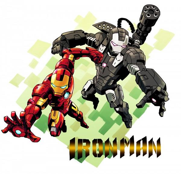 Tags: Anime, Pixiv Id 4989, Iron Man, War Machine, Iron Man (Character), Marvel