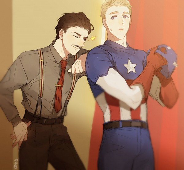 Tags: Anime, Mixed Blessing, The Avengers, Captain America, Howard Stark, Marvel Cinematic Universe, Marvel, deviantART, Fanart From DeviantART, Fanart