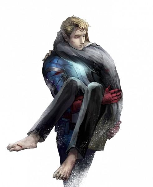 Tags: Anime, Dsmiler, The Avengers, Anthony Edward Stark, Captain America, Steven Rogers, deviantART, Fanart, Fanart From DeviantART, Marvel