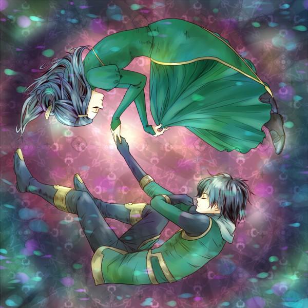 Tags: Anime, Pixiv Id 1567217, Leah (Marvel), Loki Laufeyson, Marvel