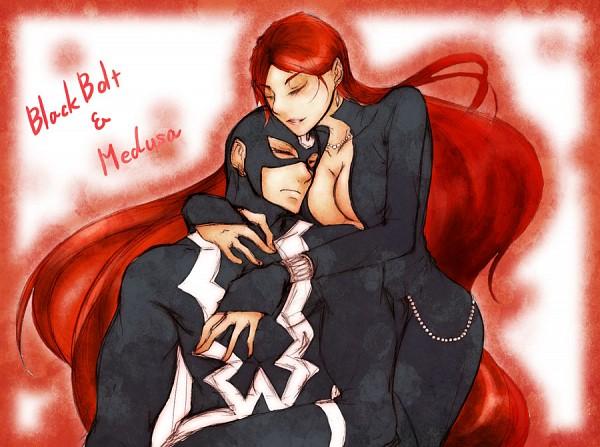 Tags: Anime, Pixiv Id 1354911, Black Bolt, Medusa (Marvel), Inhumans, Marvel, Pixiv