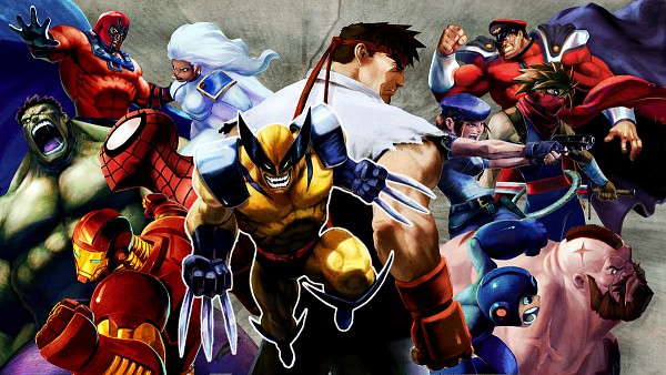 Tags: Anime, X-Men, Spider-Man, Iron Man, Wolverine, Strider, Resident Evil, Rockman, Street Fighter, Marvel vs. Capcom, Magneto, Storm (Character), Spider-Man (Character)