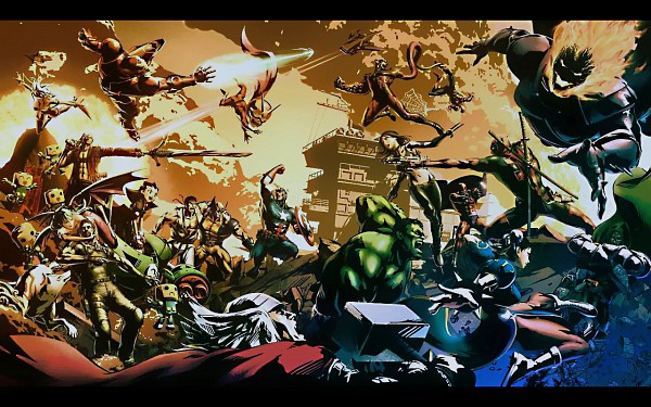 Tags: Anime, Iron Man, Wolverine, X-Men, Spider-Man, Okami, Resident Evil, Marvel vs. Capcom, Street Fighter, Devil May Cry, Megaman Legends, Viewtiful Joe, Darkstalkers