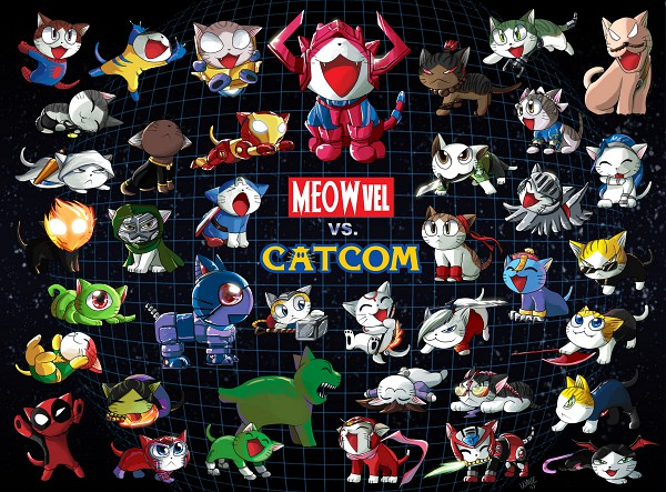 Tags: Anime, X-Men, Chi's Sweet Home, Iron Man, Final Fight, Okami, Resident Evil, Rockman X, Devil May Cry, Marvel vs. Capcom, Street Fighter, Bionic Commando, Darkstalkers
