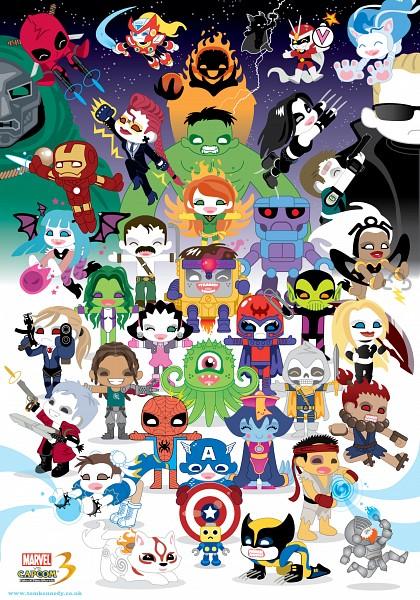 Tags: Anime, Capcom, Iron Man, X-Men, Spider-Man, Final Fight, Resident Evil, Devil May Cry, Street Fighter, Darkstalkers, Marvel vs. Capcom, Viewtiful Joe, Mike Haggar