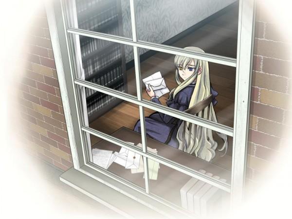 Tags: Anime, Shikkoku no Sharnoth -What a Beautiful Tomorrow-, Mary Clarissa Christie, CG Art