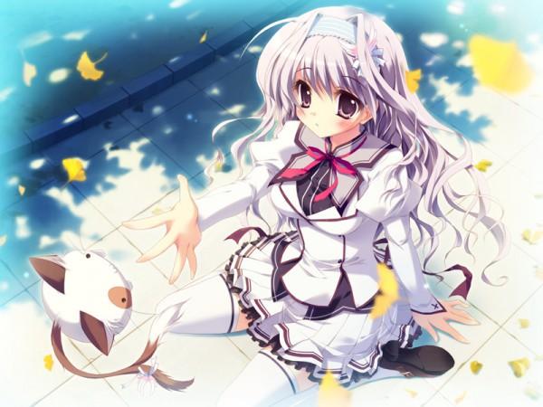 Tags: Anime, Izumi Tsubasu, Palette (Studio), Mashiro Iro Symphony, Pannya, Amaha Miu, CG Art