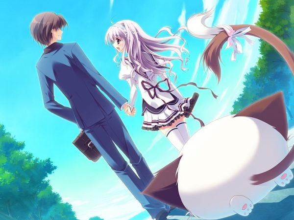 Tags: Anime, Izumi Tsubasu, Palette (Studio), Mashiro Iro Symphony, Uryuu Shingo, Pannya, Amaha Miu, CG Art