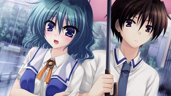 Tags: Anime, Ikura Nagisa, Mana (Studio), Mashiro Summer, Misaki Mio, Wallpaper, CG Art