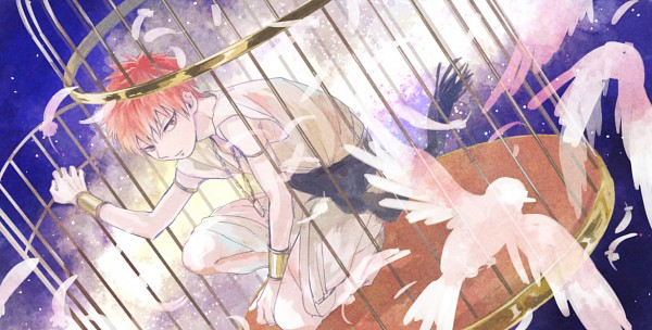 Tags: Anime, Pixiv Id 457652, MAGI: The Labyrinth of Magic, Masrur, Fanart, Fanart From Pixiv, Facebook Cover, Pixiv