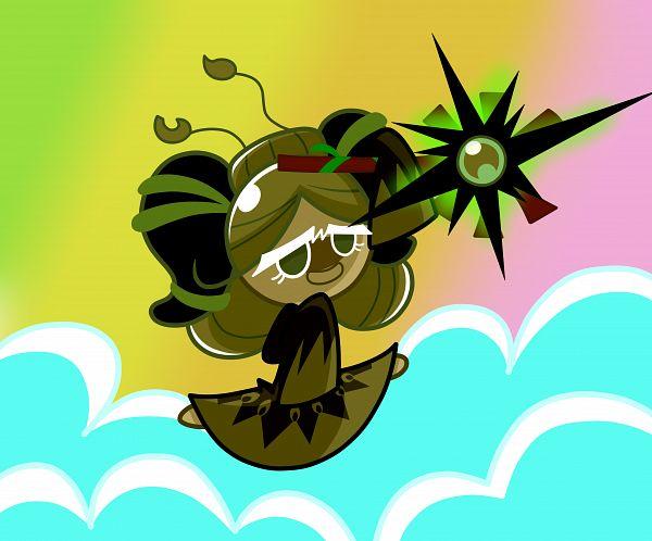 Tags: Anime, Pixiv Id 4156578, Cookie Run: OvenBreak, Cookie Run, Matcha Cookie, Fanart From Pixiv, Pixiv, Fanart