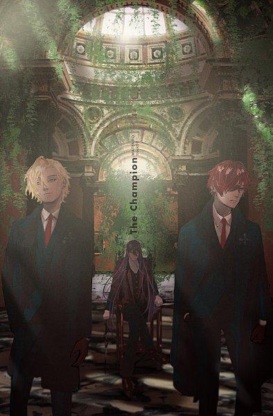 Tags: Anime, Pixiv Id 14048951, Hypnosis Mic -Division Rap Battle-, Kannonzaka Doppo, Jinguuji Jakurai, Izanami Hifumi, Bodyguard, Matenrou