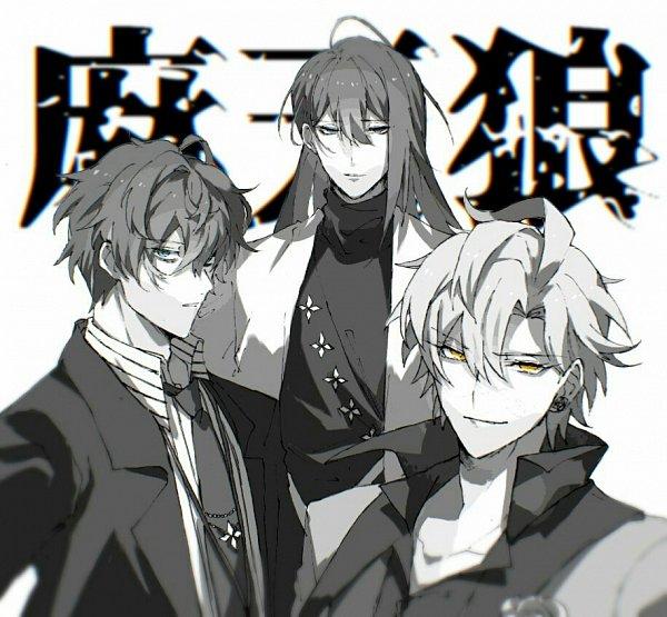 Tags: Anime, Pixiv Id 20326037, Hypnosis Mic -Division Rap Battle-, Izanami Hifumi, Kannonzaka Doppo, Jinguuji Jakurai, Pixiv, Fanart, Fanart From Pixiv, Matenrou