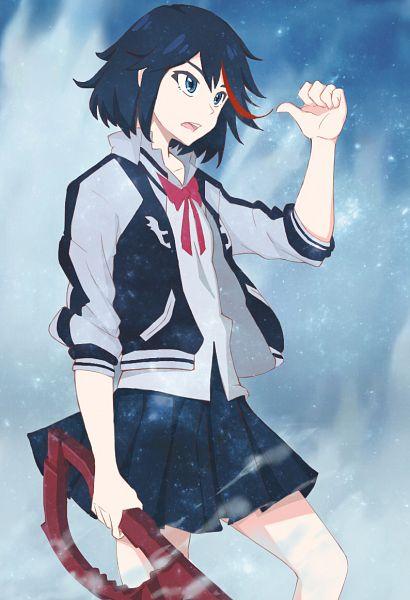Tags: Anime, Pixiv Id 7440365, KILL la KILL, Matoi Ryuuko, Sukajan, Mobile Wallpaper, Fanart From Pixiv, Pixiv, Fanart, Ryuuko Matoi