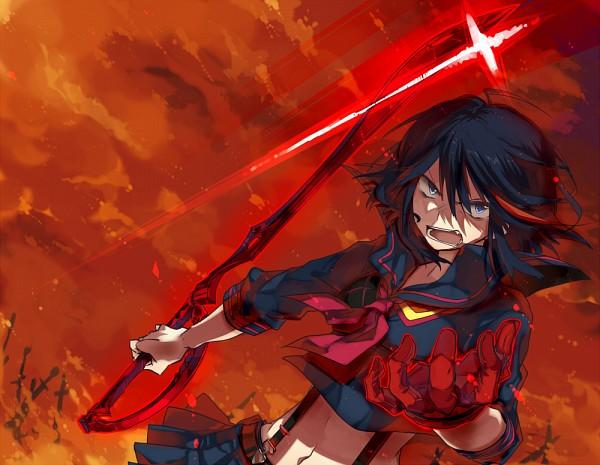 Tags: Anime, Kazutake Hazano, KILL la KILL, Matoi Ryuuko, Fanart From Pixiv, Pixiv, Fanart, Ryuuko Matoi