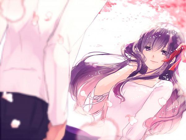 Tags: Anime, Pixiv Id 1997396, Fate/stay night, Matou Sakura, PNG Conversion