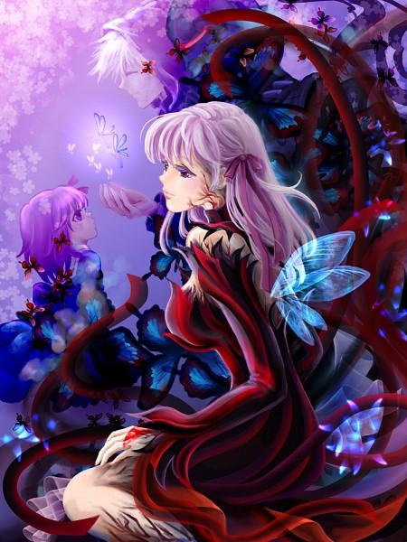 Tags: Anime, Manbosakuranbo, Fate/zero, Fate/stay night, Dark Sakura, Matou Sakura, Matou Kariya, Fanart, Pixiv