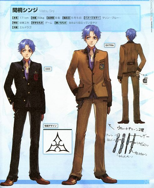 Matou Shinji - Fate/stay night