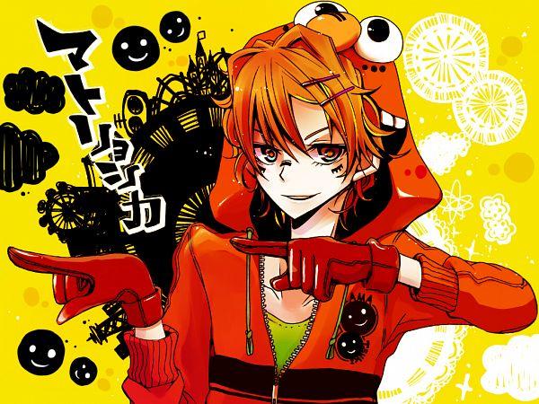 Tags: Anime, Pixiv Id 491788, Sesame Street, Elmo (Sesame Street), Amatsuki (Nico Nico Singer), Smiley Face, Hachi-p, Pixiv, Fanart From Pixiv, Wallpaper, Matryoshka, Fanart, PNG Conversion