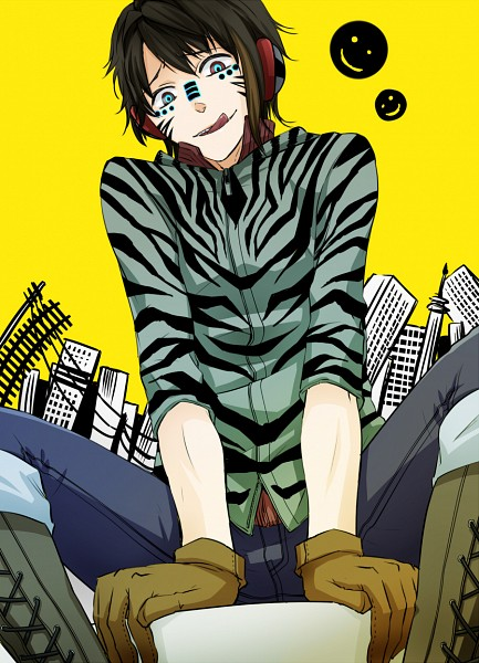 Tags: Anime, Pixiv Id 217558, Zebra (Nico Nico Singer), Smiley Face, Fanart From Pixiv, Pixiv, Fanart, Matryoshka, Mobile Wallpaper, Nico Nico Singer