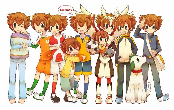 Tags: Anime, 0328uppi, Inazuma Eleven, Inazuma Eleven GO, Inazuma Eleven GO Chrono Stone, Matsukaze Tenma, Track Pants, Pixiv, Fanart, Fanart From Pixiv