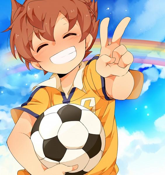 Tags: Anime, Umiko (munemiu), Inazuma Eleven GO, Matsukaze Tenma, Pixiv, Fanart