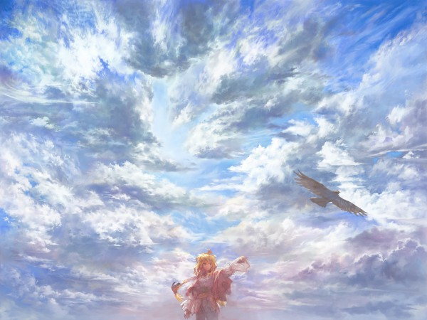Tags: Anime, Matsukichi, Eagle, Original, Pixiv