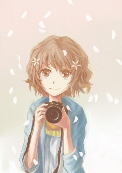 Tags: Anime, Xiamianliele, Hanasaku Iroha, Matsumae Ohana, Pixiv, Fanart From Pixiv, Fanart