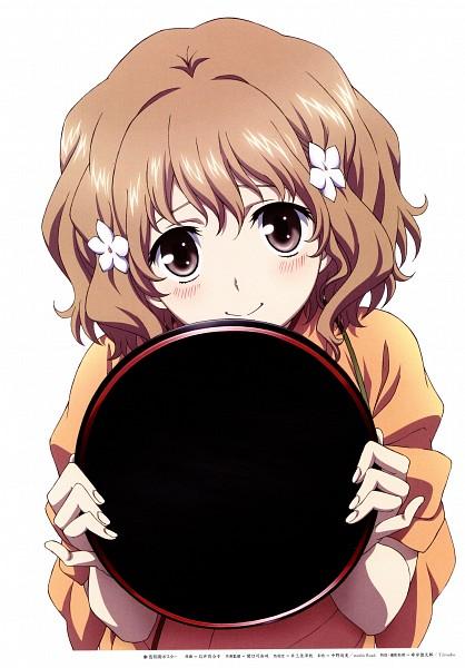 Tags: Anime, Ishii Yuriko, P.A. Works, Hanasaku Iroha, Hanasaku Iroha - Official Visual Book, Matsumae Ohana, Official Art, Scan, Mobile Wallpaper