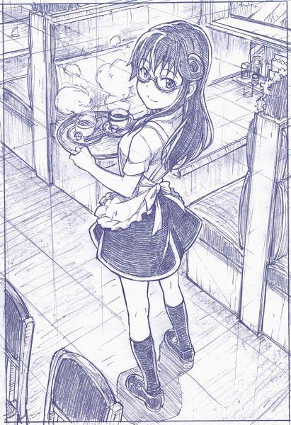 Tags: Anime, Sakino Shingetsu, Working!!, Matsumoto Maya, Restaurant