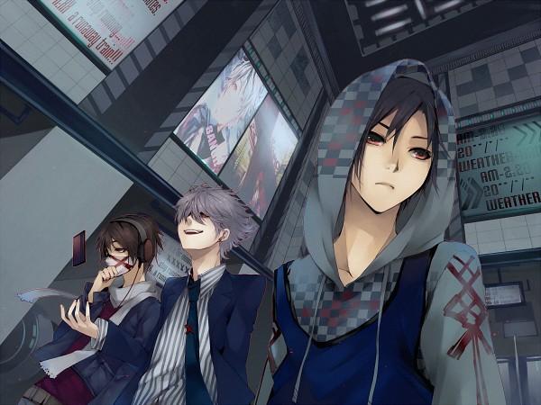 Tags: Anime, Matsunaka Hiro, Medical Mask, Credit Card, Pixiv, Original, Wallpaper
