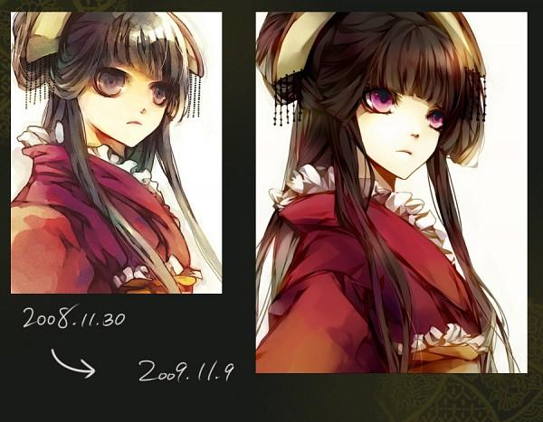 Tags: Anime, Matsunaka Hiro, Pixiv, Original, Sketch, Artist Evolution