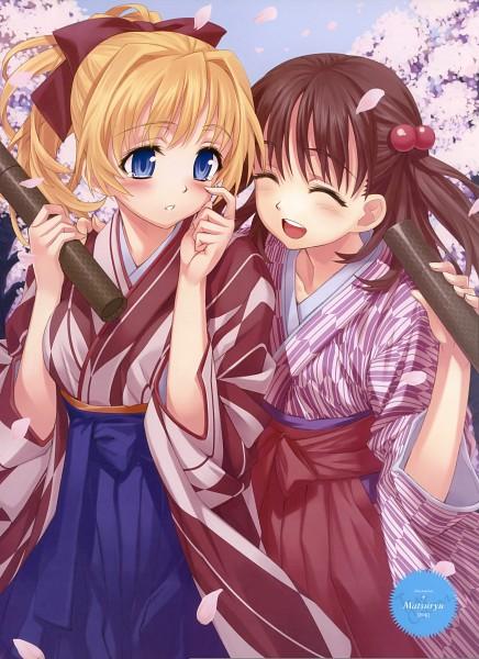 Tags: Anime, Matsuryu, Dengeki Moeoh 2010-02, Pixiv, Dengeki Moeoh