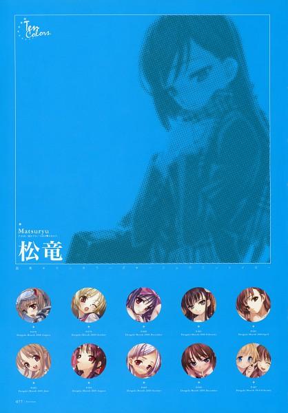 Tags: Anime, Matsuryu, Dengeki Moeoh Ten Colors, Dengeki Moeoh, Pixiv