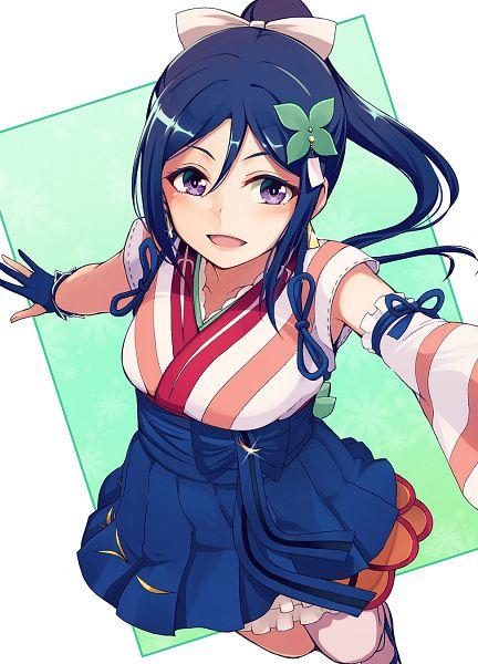 Tags: Anime, Pixiv Id 33289, Love Live! Sunshine!!, Matsuura Kanan, Mobile Wallpaper, Mijuku DREAMER