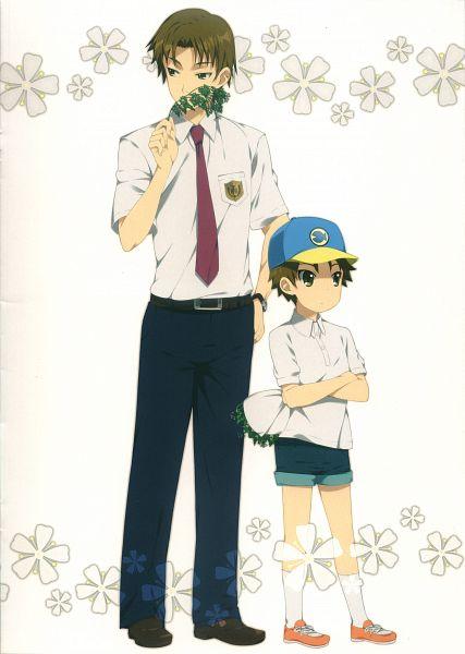 Tags: Anime, Mizuki Makoto, Ano Hi Mita Hana no Namae o Bokutachi wa Mada Shiranai., Ano Hi Mita Hana - Fanbook, Matsuyuki Atsumu, Mobile Wallpaper