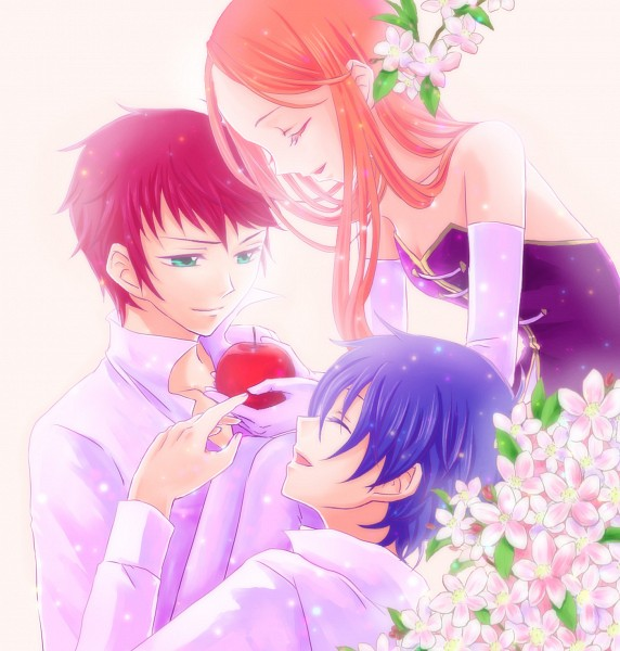 Tags: Anime, Pixiv Id 2286896, Mawaru Penguindrum, Takakura Shouma, Takakura Himari, Takakura Kanba, Pixiv, Fanart