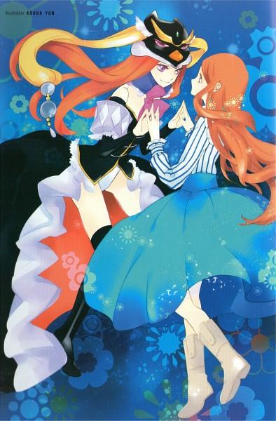 Tags: Anime, Kouga Yun, Mawaru Penguindrum, Fabulous Anthology, Princess of the Crystal, Takakura Himari, Scan