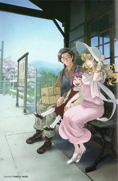 Tags: Anime, Funato Akari, Mawaru Penguindrum, Fabulous Anthology, Tokikago Yuri, Tabuki Keiju, Oginome Momoka (Mawaru Penguindrum), Scan