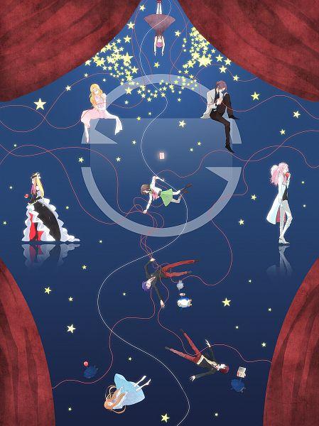Tags: Anime, Moss (kokeoff), Mawaru Penguindrum, Penguin No.2, Takakura Kanba, Tabuki Keiju, Penguin No.1, Watase Sanetoshi, Oginome Ringo, Princess of the Crystal, Takakura Shouma, Oginome Momoka (Mawaru Penguindrum), Penguin No.3