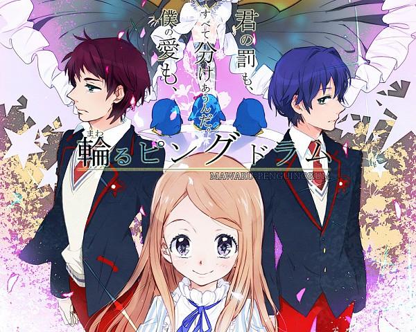 Tags: Anime, Ktro, Mawaru Penguindrum, Penguin No.1, Takakura Shouma, Takakura Himari, Penguin No.3, Takakura Kanba, Penguin No.2, Pixiv, Fanart, Takakura Twins