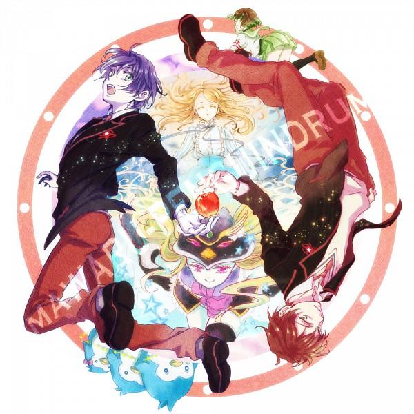 Tags: Anime, Robata, Mawaru Penguindrum, Takakura Himari, Penguin No.2, Takakura Kanba, Penguin No.1, Oginome Ringo, Princess of the Crystal, Takakura Shouma, Penguin No.3, Pixiv, Takakura Twins