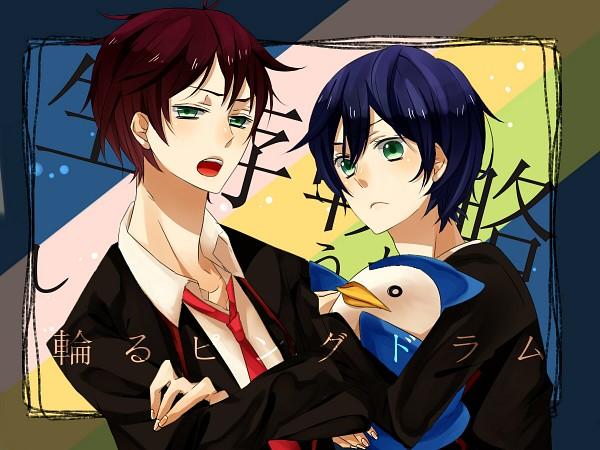 Tags: Anime, Shiraishi Shirako, Mawaru Penguindrum, Takakura Kanba, Penguin No.2, Takakura Shouma, Takakura Twins