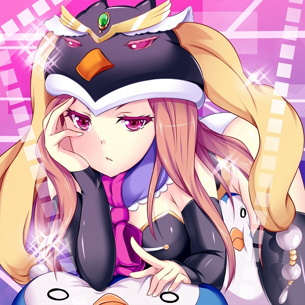 Tags: Anime, Hinata Sora, Mawaru Penguindrum, Penguin No.1, Takakura Himari, Princess of the Crystal, Penguin No.2, Sigh