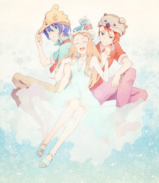 Tags: Anime, Pixiv Id 317297, Mawaru Penguindrum, Takakura Kanba, Takakura Shouma, Takakura Himari, Takakura Twins